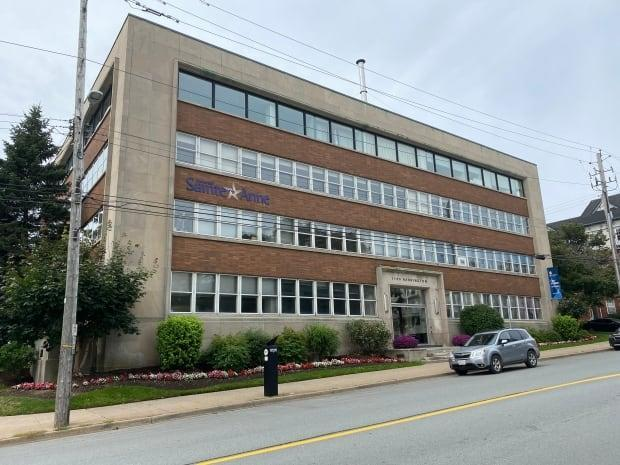 Université Sainte-Anne has five campuses, including this one in Halifax. (Brian MacKay/CBC - image credit)