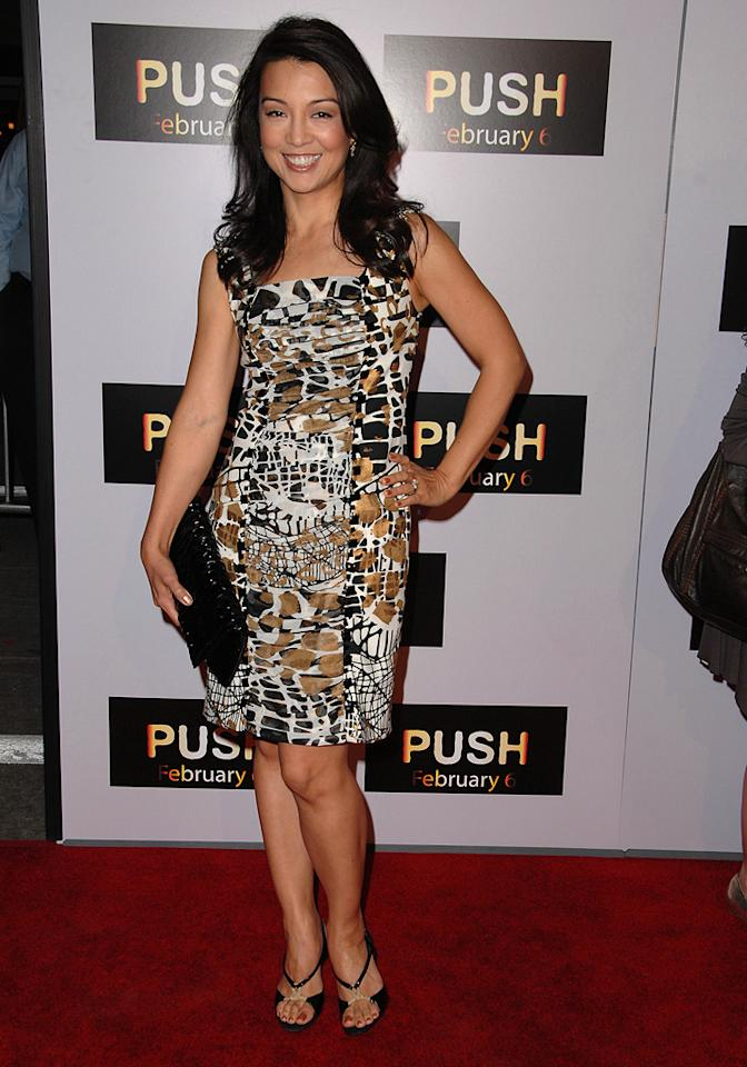 """<a href=""""http://movies.yahoo.com/movie/contributor/1804501475"""">Ming Na</a> at the Los Angeles premiere of <a href=""""http://movies.yahoo.com/movie/1809922967/info"""">Push</a> - 01/29/2009"""