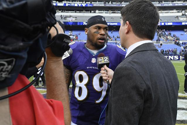Steve Smith Sr. has never been afraid to speak his mind. (Getty Images)