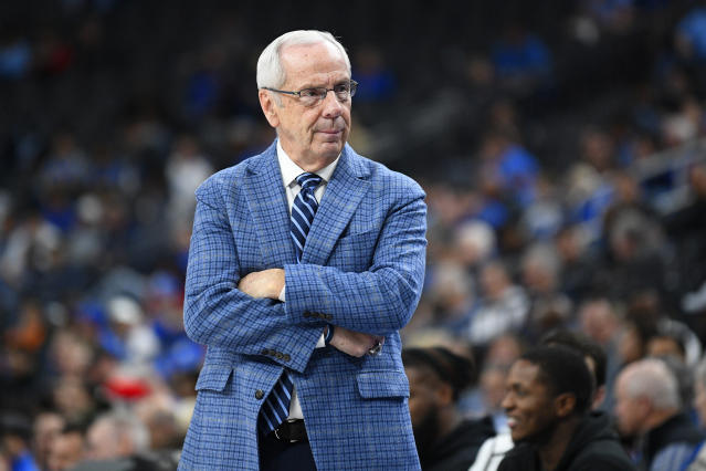 After a rough start to the season, Roy Williams called his North Carolina squad the 'least gifted' he's ever coached at Chapel Hill. (Brian Rothmuller/Icon Sportswire/Getty Images)