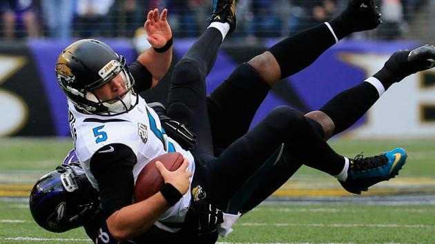 Chad Henne, Blake Bortles split snaps evenly on Sunday