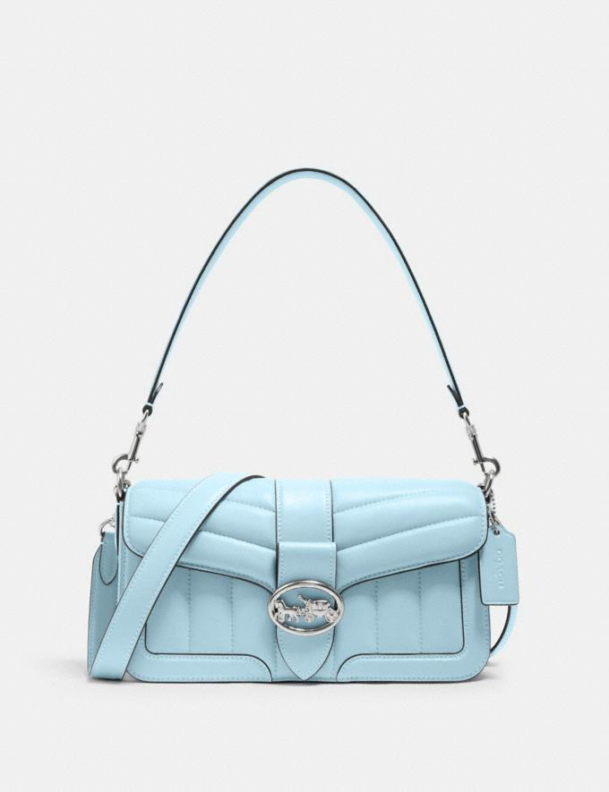 Georgie Shoulder Bag With Quilting- Coach Outlet.