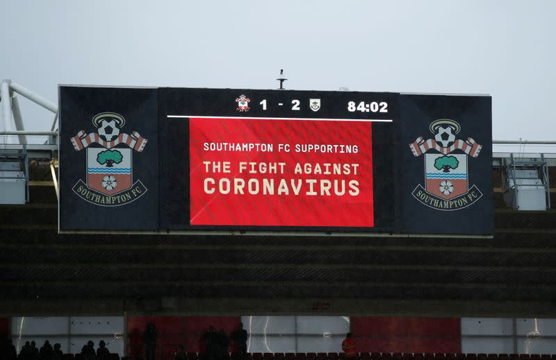Factbox: Football clubs, players, strike pay deals for coronavirus lull
