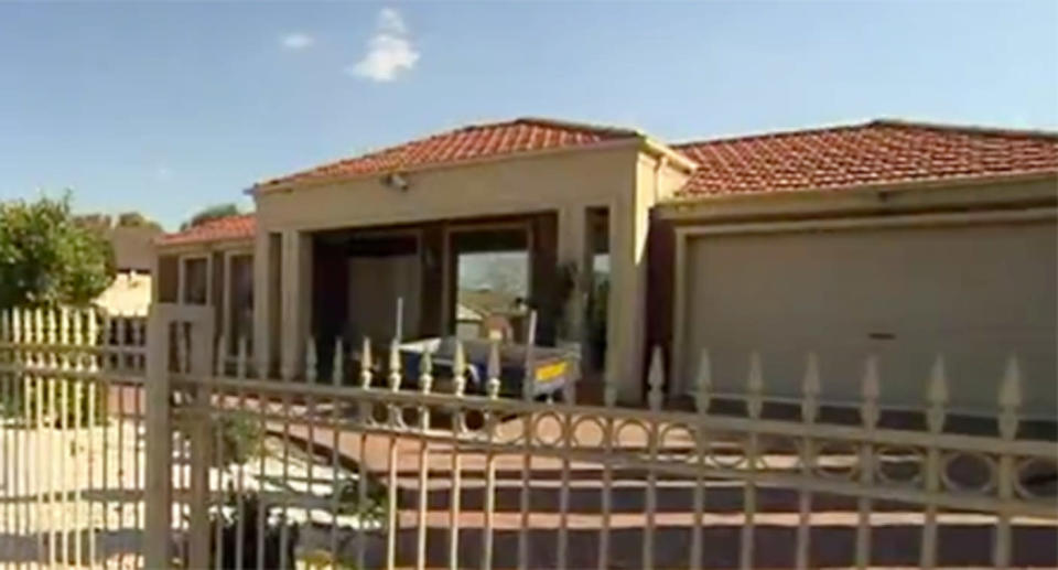 A Tarneit girl is in hospital after being attacked by the family's German Shepherd dog at home, west of Melbourne