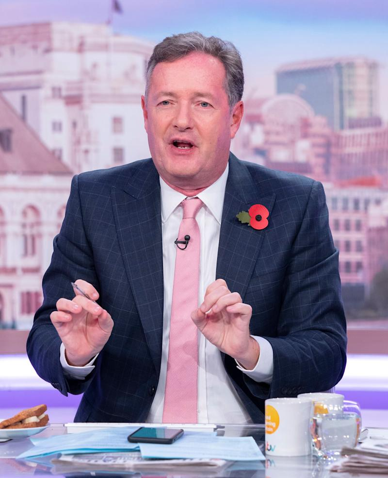 Piers Morgan (Photo: Ken McKay/ITV/Shutterstock)
