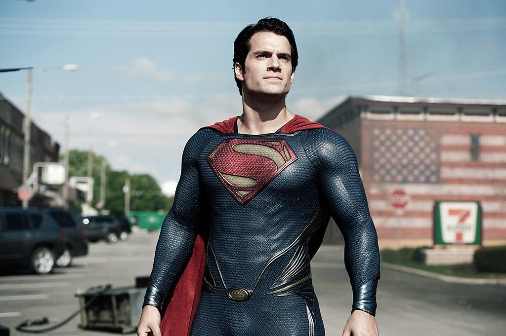 HENRY CAVILL as Superman in Warner Bros. Pictures? and Legendary Pictures? action adventure ?MAN OF STEEL,? a Warner Bros. Pictures release.