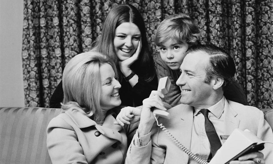 The Stonehouse family at home in 1969