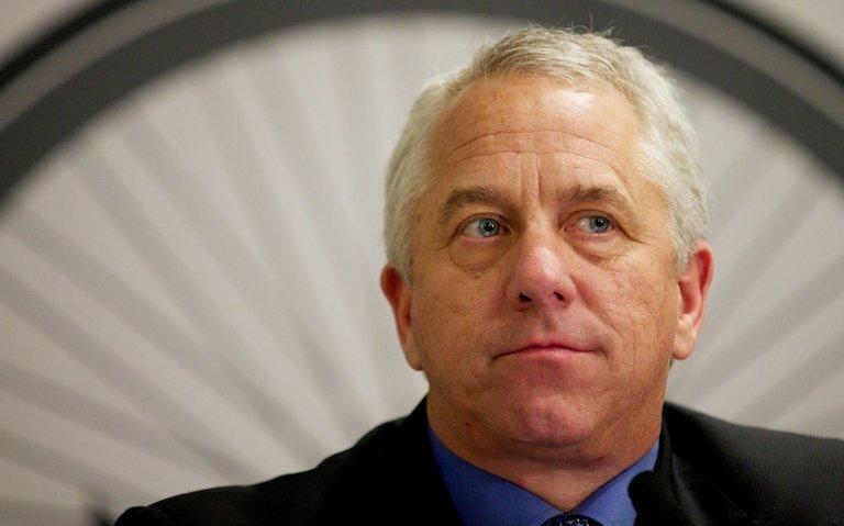 Three-time Tour de France winner Greg LeMond speaks during a press conference in London, on December 3, 2012. A confession of doping isn't all Lance Armstrong needs to offer in his anticipated television interview with Oprah Winfrey, according to LeMond and other cyclist who fell victim of Armstrong's aggressive efforts to impugn his accusers