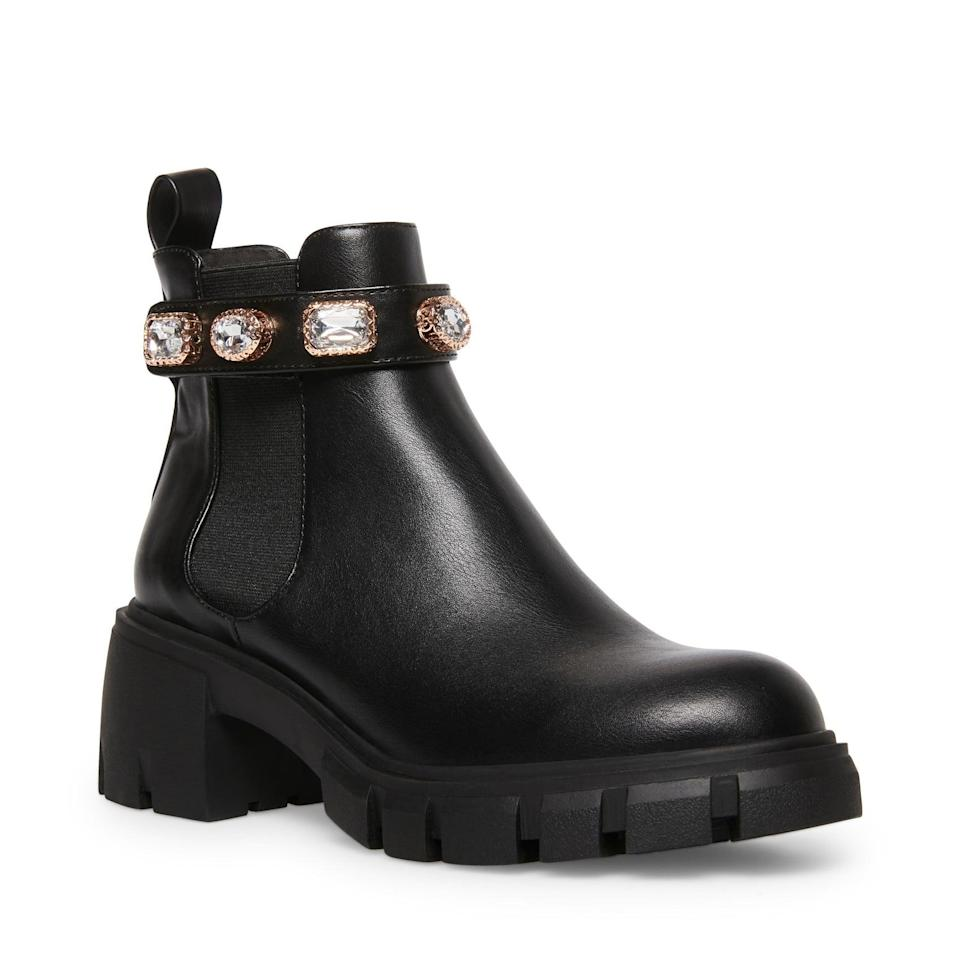 <p>If you like some studs on your shoes, then opt for these polished <span>Madden Girl Honeyy Chelsea Boots</span> ($80). Pair them with everything from a slip skirt to your favorite ankle jeans.</p>