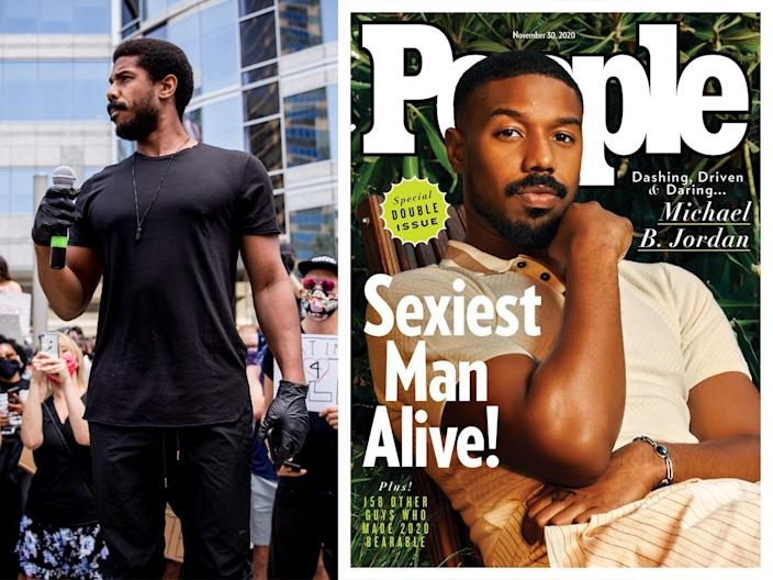michael b jordan sexiest man alive people