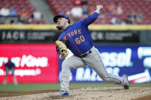 P.J. Conlon became the first Irish-born player in MLB in over 70 years Monday. (Getty Images)
