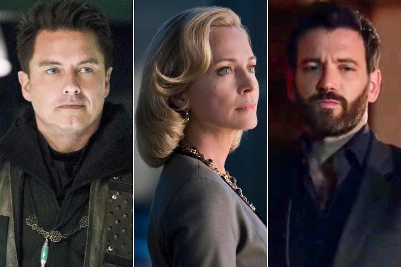 """Final season, time for some homecomings!<a href=""""https://ew.com/creative-work/arrow/"""" target=""""_blank""""><em>Arrow</em></a> is bringing back many familiar faces to help<a href=""""https://ew.com/comic-con/2019/07/17/arrow-final-season-cover-story/"""" target=""""_blank""""> close the book on Oliver Queen's story</a>. Here's who you can expect to see in the 10-episode-long eighth season. (There's still no word yet on an appearance from the Huntress, but we haven't lost hope!)  The swan-song season premieres Oct. 15 at 9 p.m. ET on the CW."""