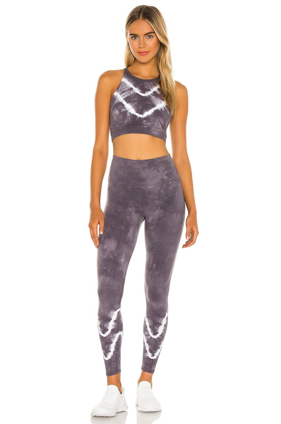 <p>The print on this <span>Electric & Rose Grayson Crop Top</span> ($88) and <span>Sunset Legging</span> ($98) is so unique and fun.</p>