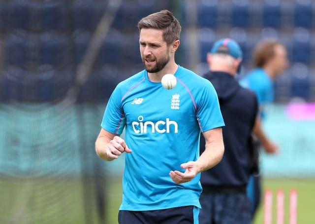 Chris Woakes starred for England