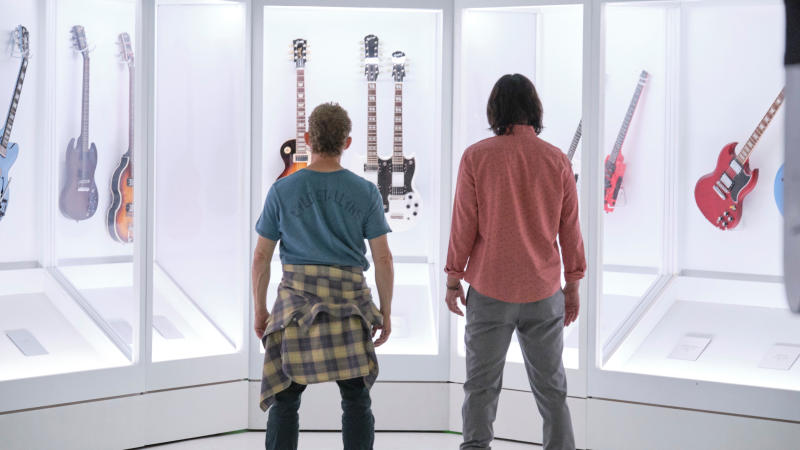 'Bill and Ted Face the Music'. (Credit: Warner Bros)