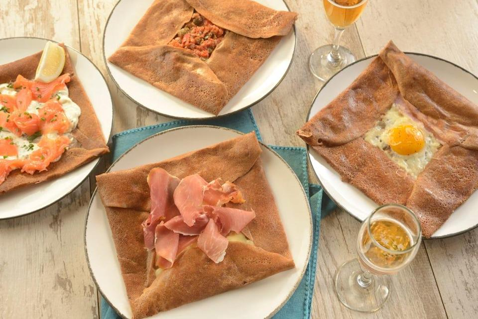 In addition to crepes, La Creperie de Paris at EPCOT's France pavilion, will serve savory galettes made from buckwheat.