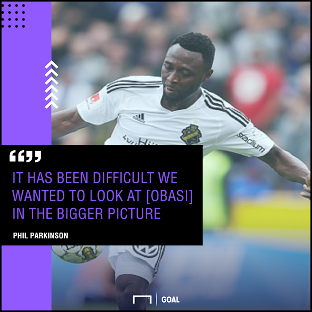 The Trotters gaffer has highlighted some factors that are delaying a decision on the Nigeria forward