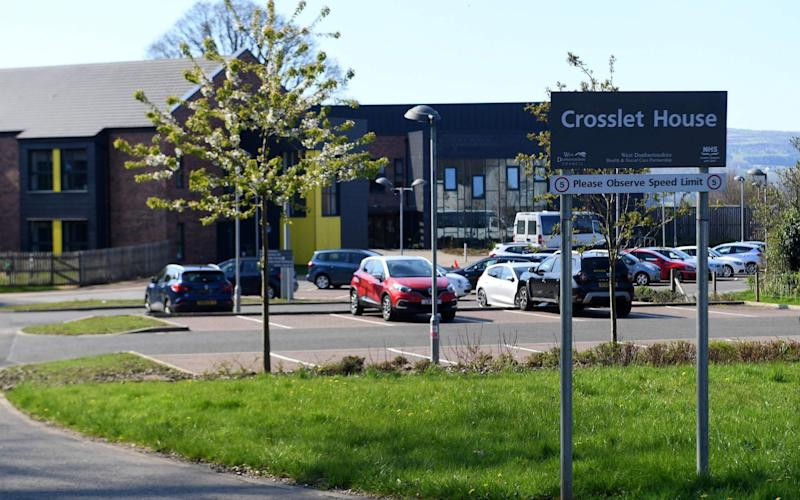 Crosslet House Care Home in Dumbarton is among many that has suffered a fatal outbreak of coronavirus - AFP