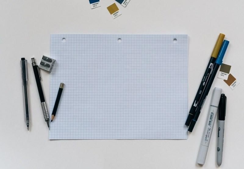 Stationery for sketching