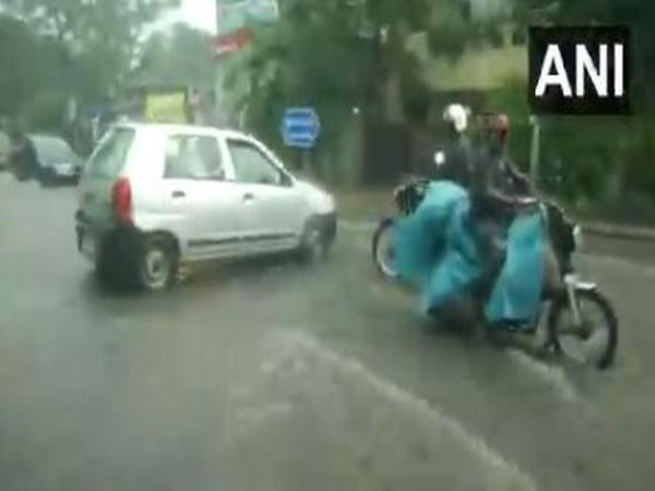Chennai witnessed sever water-logging following heavy downpour