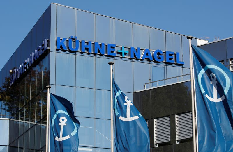 Kuehne+Nagel owner sees about 20,000 job cuts: Die Welt