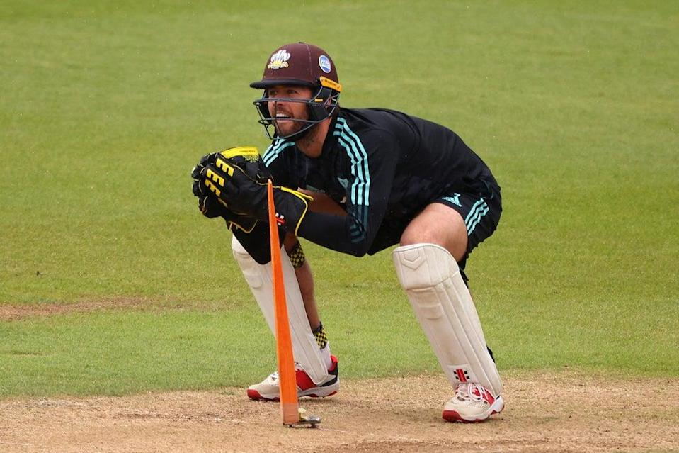 Ben Foakes is back in training with Surrey (Getty Images for Surrey CCC)