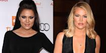 <p>After filing for divorce from Lamar Odom, Khloé transformed her look with new blonde hair, as one does.</p>