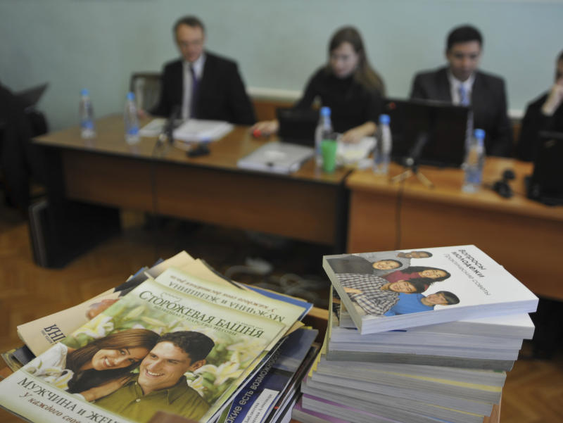 Lawyers for the Jehovah's Witnesses said they would appeal the court's decision: Reuters