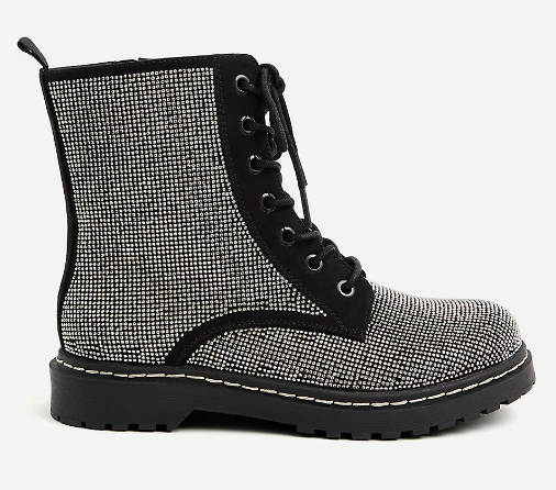 Rhinestone Combat Bootie (Photo via Torrid)