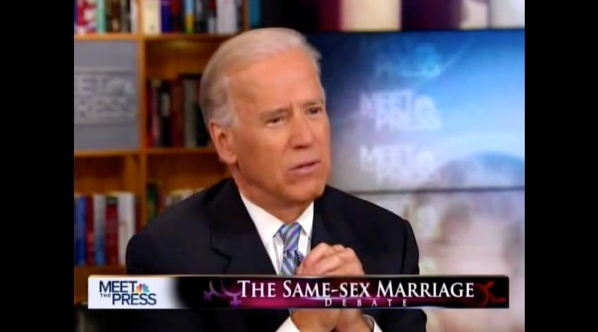 biden same sex marriage 2012