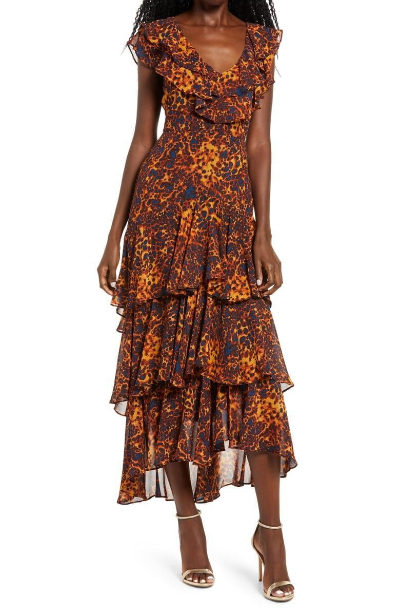 <p><span>WAYF Chelsea Tiered Ruffle Maxi Dress</span> ($45, originally $99)</p>