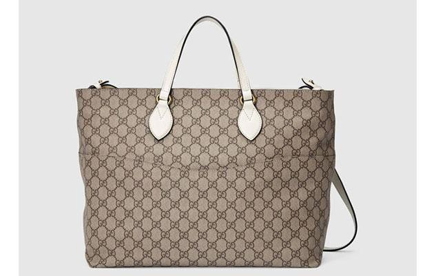 Buying everything - including this Gucci nappy bag - is going to really add up. Photo: www.gucci.com