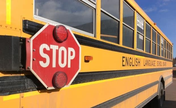 The bus was carrying children ages seven to nine. (Nancy Russell/CBC - image credit)