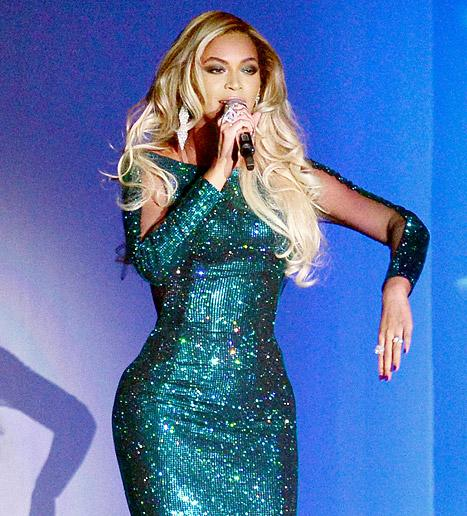 Beyonce Wears $2 Million Worth of Diamonds at the 2014 Brit Awards: Pictures