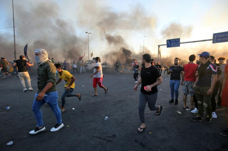The recent wave of protests was the deadliest in Iraq since the 2003 fall of Saddam Hussein (AFP Photo/AHMAD AL-RUBAYE)