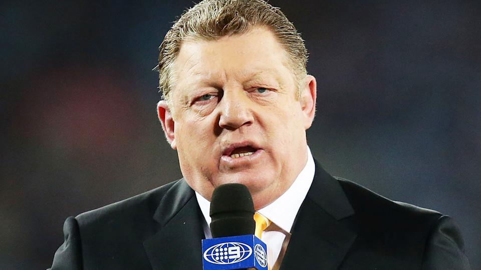Rugby league great Phil Gould has spoken out about the Parramatta Eels sex scandal, criticising the person who filmed the video. (Photo by Matt King/Getty Images)