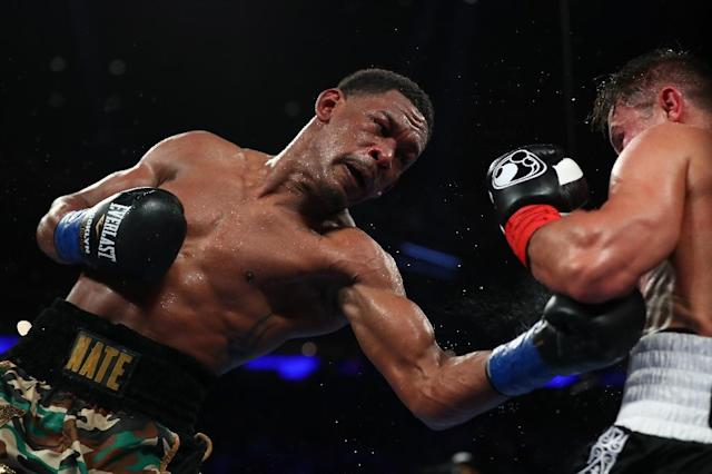Daniel Jacobs is nicknamed 'Miracle Man' after his career was almost ended in 2011 because of osteosarcoma, a rare form of bone cancer (AFP Photo/Al Bello)