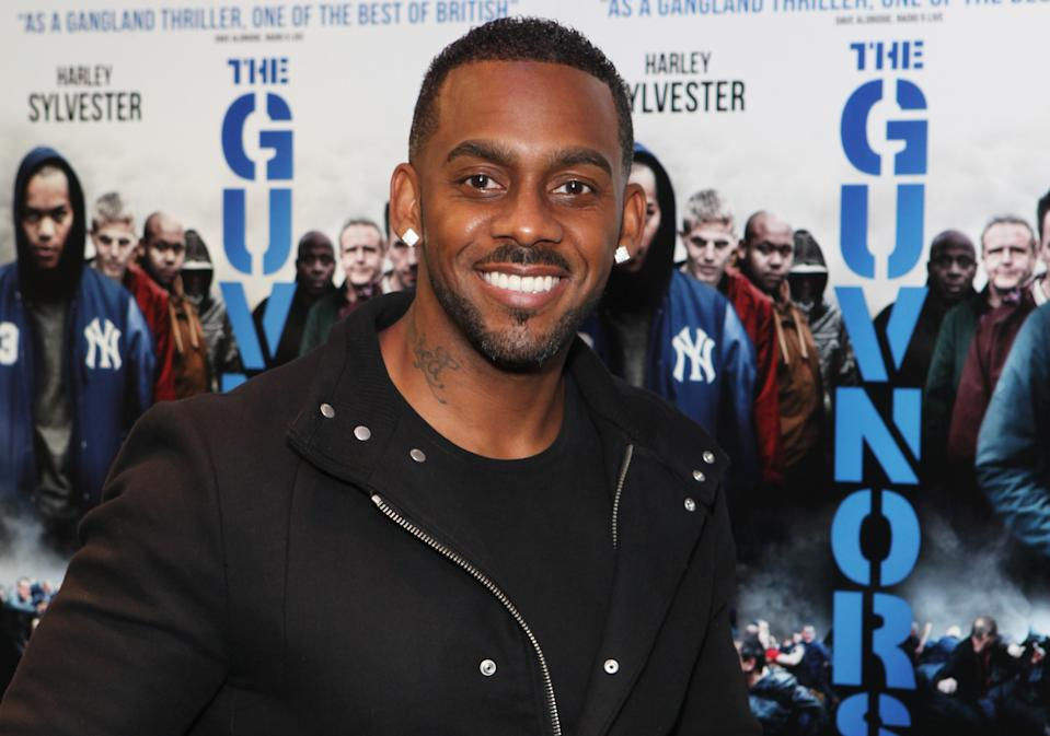 "LONDON, ENGLAND - AUGUST 27:  (EMBARGOED FOR PUBLICATION IN UK TABLOID NEWSPAPERS UNTIL 48 HOURS AFTER CREATE DATE AND TIME. MANDATORY CREDIT PHOTO BY DAVE M. BENETT/WIREIMAGE REQUIRED)  Richard Blackwood attends the UK Premiere of ""The Guvnors"" at Odeon Covent Garden on August 27, 2014 in London, England.  (Photo by Dave M. Benett/WireImage)"