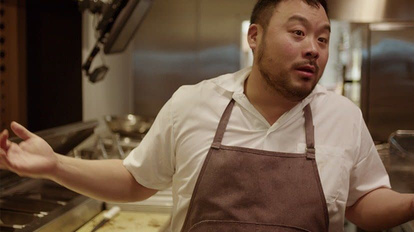 David Chang is coming out with a new food show and we're already hungry.