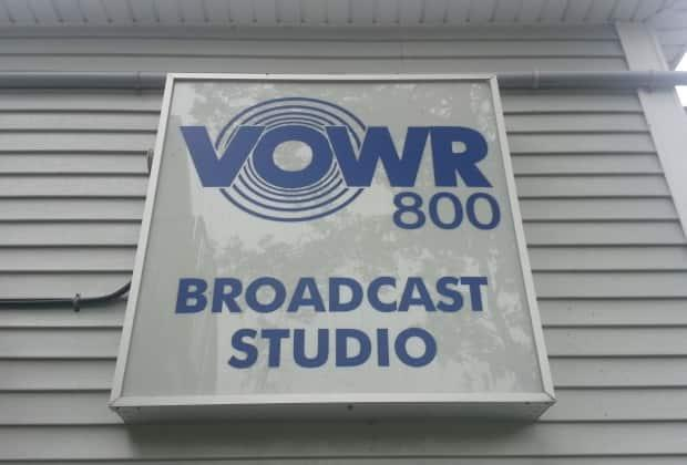 VOWR is off the airwaves after a thunder and lightning storm Friday night. (Francesca Swann/CBC - image credit)
