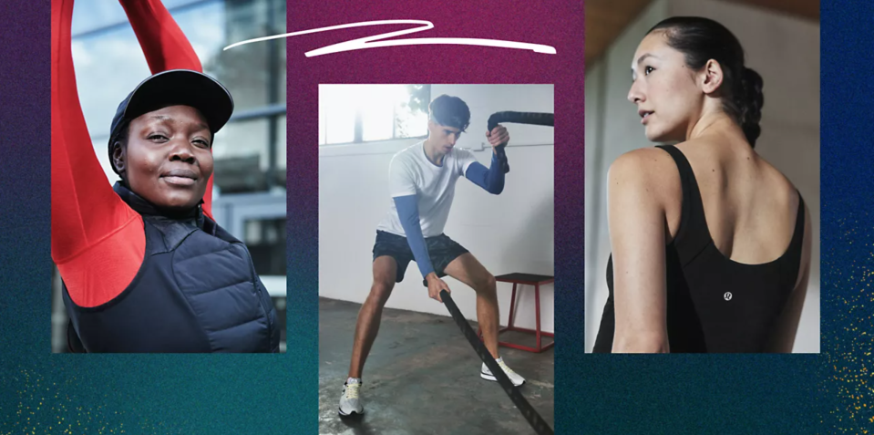 Lululemon's Boxing Day event kicks off today. Image via Lululemon.