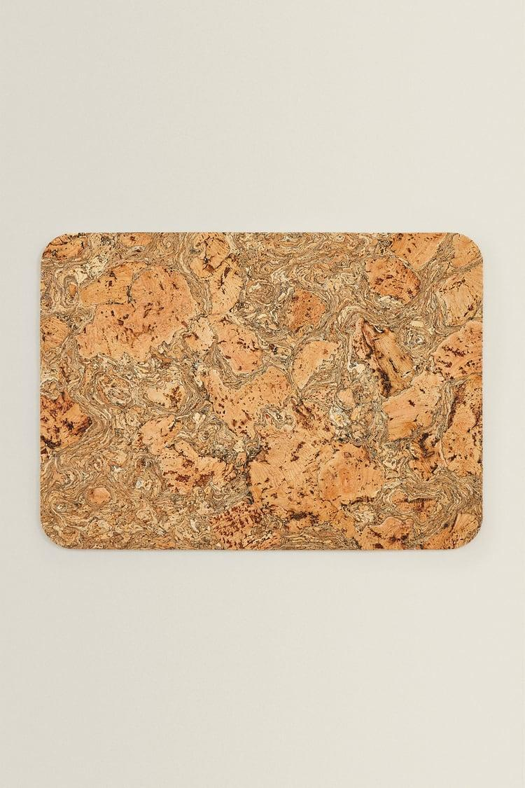 """<strong>Elli Weir, Senior Social Editor</strong><br><strong><br>Under £10</strong><br><br>My current placemats are looking very sorry for themselves and are in desperate need of a replacement. This chic cork placemat from Zara is the perfect upgrade and I love the grain detail. (This item is a bit of a cheat because I will have to buy more than one...)<br><br><strong>Zara</strong> CORK PLACEMAT, $, available at <a href=""""https://www.zara.com/uk/en/cork-placemat-p43538023.html?v1=110596357"""" rel=""""nofollow noopener"""" target=""""_blank"""" data-ylk=""""slk:Zara"""" class=""""link rapid-noclick-resp"""">Zara</a>"""