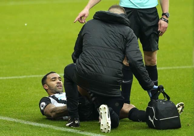 Callum Wilson could be missing for two months