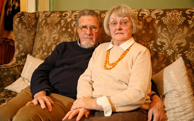 John and Valerie Earl whose daughter Jessie disappeared 27 years ago - Peter Payne