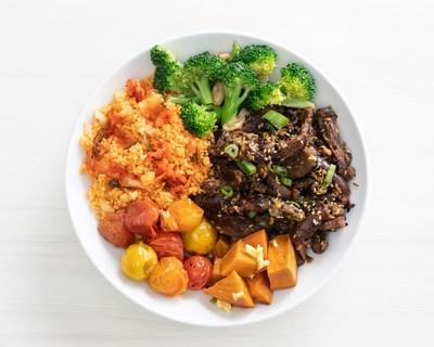 Veggie Grill launches Kimchi Beef Bowl.