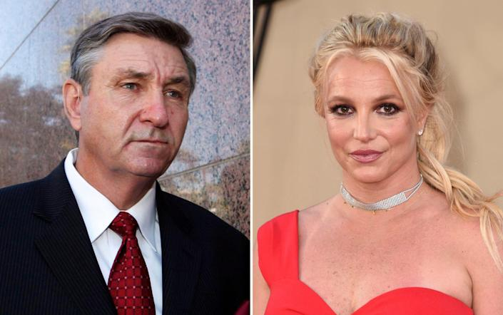Britney Spears has been subject to the conservatorship of her father, Jamie, since 2008 - AP