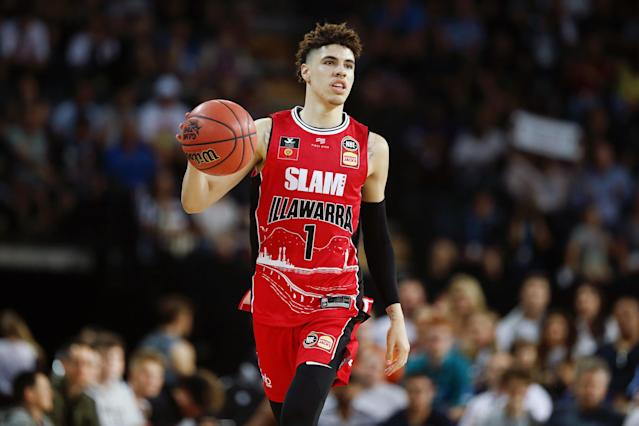LaMelo Ball is proving to be the real deal in the Australian NBL. (Photo by Anthony Au-Yeung/Getty Images)