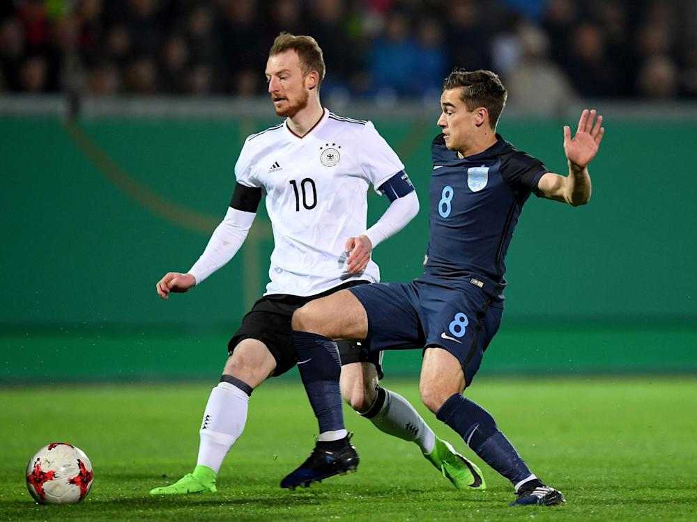 Harry Winks can see a path to the senior England side with Gareth Southgate in charge: Getty
