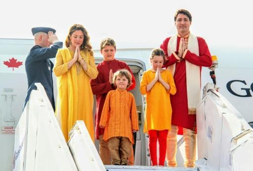 <p>Trudeau tours India amid quips PM being given 'cold shoulder'</p>