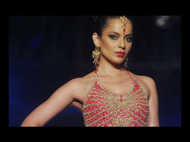 <b>10. Kangana Ranaut</b><br>This porcelain-skinned actress is known for being rather liberal when it comes to changing her hairstyles. But take one look at her sense of style and you're enthralled. While she's brash and bold, Kangana has opted for quite a few classic looks, all of which give her an ice-queen, touch-me-not look, but she does more than carry off the look, she lives it. What's more, she has darkened her style stamp even further by becoming the brand ambassador for an online fashion company.